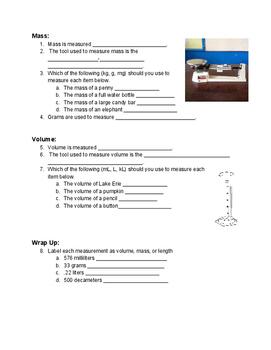 Metric Study Guide