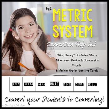 Metric System Conversion Help Set