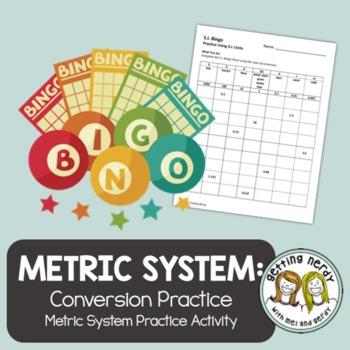 Metric System Conversion Practice - Scientific Method