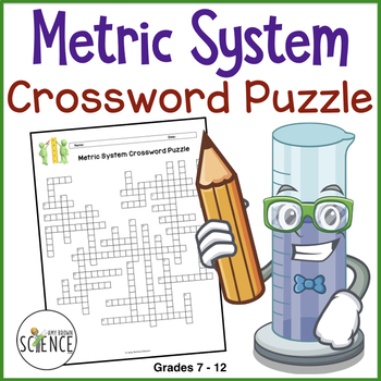 Metric System Crossword Puzzle by Amy Brown Science | TpT