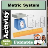 Metric System Foldable (Differentiated)