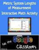 Metric System Google Slide Distance Learning