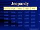 Metric System Jeopardy Powepoint