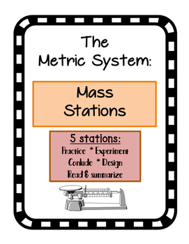 Metric System Mass Stations Centers