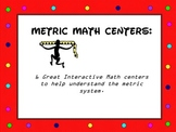 Metric System Math Centers: Group Learning 6 Great Math Centers