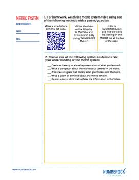 Metric System | FREE Measurement BINGO, Worksheet, & Fun Video | 4th-5th Grade