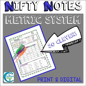Metric System Nifty Notes