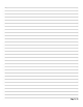 Metric System RAFT (short creative writing)