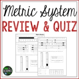 Metric System Review and Quiz