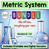Metric System and Scientific Measurement Bundle