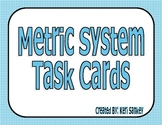 Common Core Metric System Task Cards