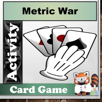 Metric System War Card Game