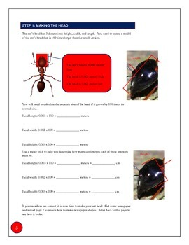 Metric Conversion Collaborative Project: Inspired by Ant-Man the movie