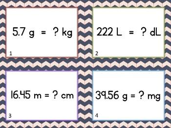 Metric Unit Converstions