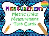 Metric Units Measurement Task Cards