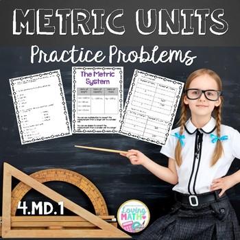 Metric Units Conversions Worksheets