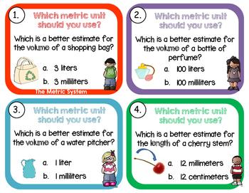 Metric Units 3.OA.A.3