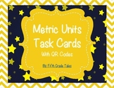 Metric Units Conversion Task Cards with QR Codes and Glog