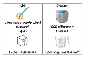 Metric Units Loop Game