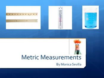 Metric Units Powerpoint