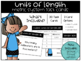 Metric Units of Length Task Cards