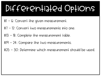 Metric System Units of Length Task Cards