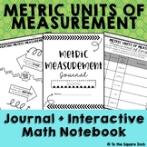 Metric Units of Measure Journal