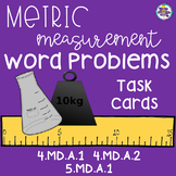 Metric Units of Measurement Real World Word Problems