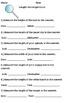Interactive Measurement Activities Bundle (Length, Mass, Capacity)