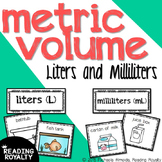 Metric Volume - Milliliter and Liter Sort