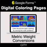 Metric Weight Conversions - Digital Coloring Pages | Google Forms