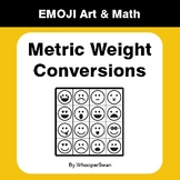 Metric Weight Conversions - Emoji Art & Math - Draw by Num