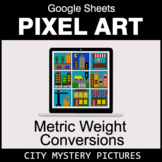 Metric Weight Conversions - Google Sheets Pixel Art - City
