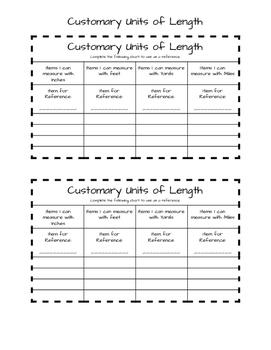 Metric and Customary Units TEKS 4.8A,B - Interactive Notebook - No Prep