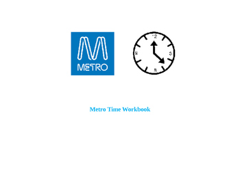 Metro Timetables