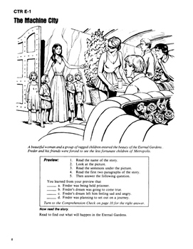 Metropolis 10 Chapter Novel with Student Activities and Answer Keys
