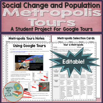 Metropolis Tours Activity for Use with Google Tours
