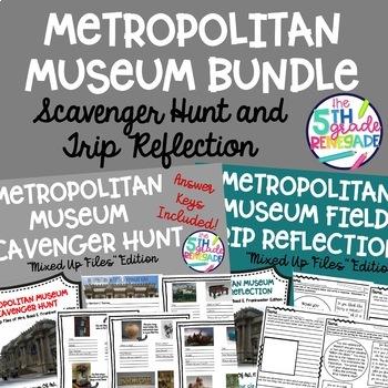 Metropolitan Museum of Art Scavenger Hunt Bundle