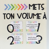 Mets ton volume à... // FRENCH VOICE LEVEL CHART
