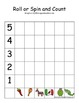 Mexico Die and Spinner Graphing Activity