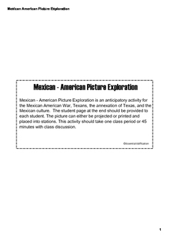 Mexican - American War Picture Exploration