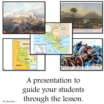Mexican American War Presentation and Writing Activity