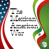 Texas History 7th Grade - Mexican American War Presentation and Writing Activity
