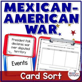 Mexican-American War Card Sort