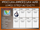 Mexican American War Comic Strip Activity - UPDATED with TWO VERSIONS