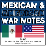 Mexican-American War Foldable