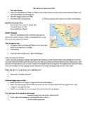 Mexican American War Guided Notes