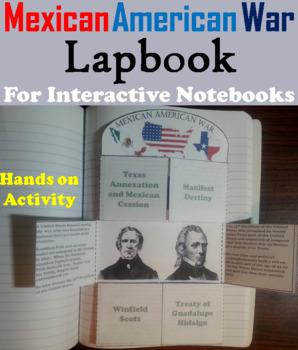 Mexican American War Interactive Notebook Activity