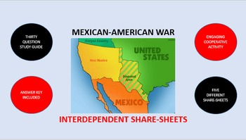 Mexican-American War: Interdependent Share-Sheets Activity