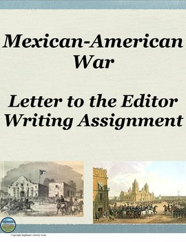 Mexican-American War RAFTT Assignment